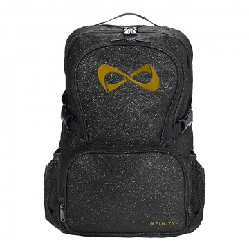 Nfinity backpack sparkle black